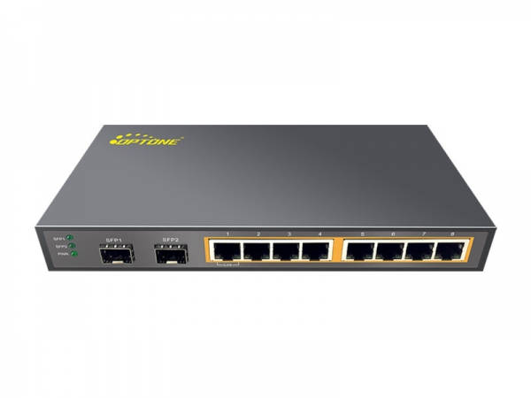 OPT-PSE2210 Switch POE 2 cổng GE SFP and 8 cổng 10/100/1000M TX