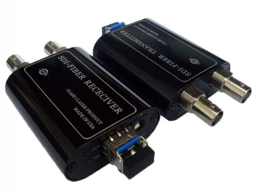 Mini Type SD/HD/3G SDI I High density digital audio/video fiber transmission with loop-out port