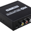 HDMI to AV(CVBS)+L/R Audio Converter