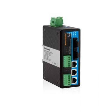 IES615-2F-2DI(RS-485) 3ONEDATA Switch Ethernet công nghiệp có quản lý 3 cổng Etherent + 2 cổng quang + 2 cổng RS422/485